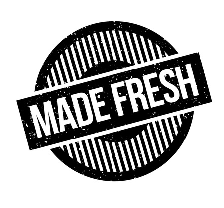 Made Fresh rubber stamp Stock fotó - 83070920