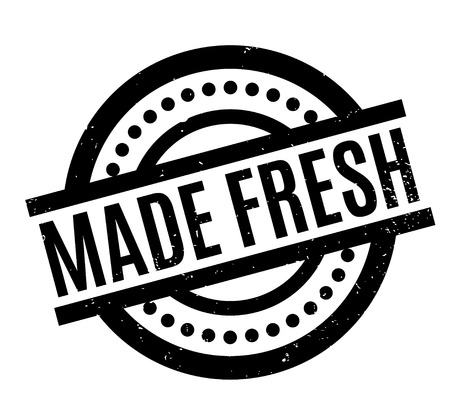 Made Fresh rubber stamp Stock fotó - 83070925