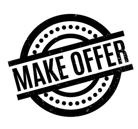Make Offer rubber stamp