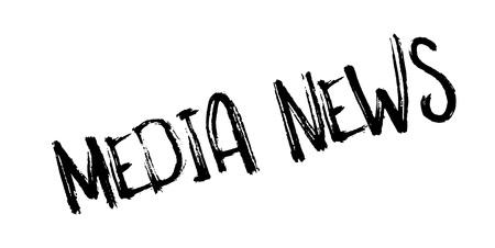Media News rubber stamp