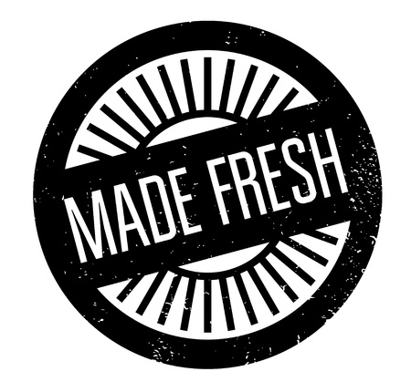 Made Fresh rubber stamp Stock fotó - 83069948