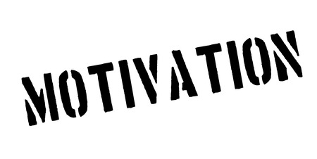 motivated: Motivation rubber stamp