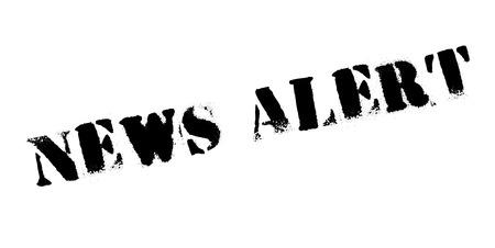 breaking: News Alert rubber stamp