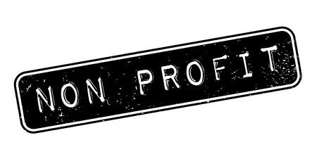 non: Non Profit rubber stamp Illustration