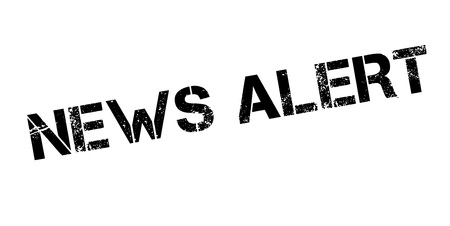 News Alert rubber stamp Stock Vector - 83136970