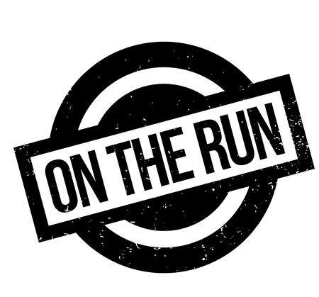 On Run timbro di gomma