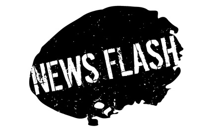 News Flash rubber stamp Stock Vector - 83138822