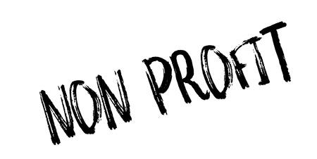 Non Profit rubber stamp Illustration