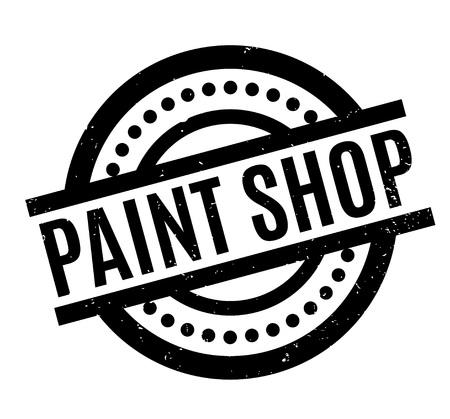 Paint Shop rubber stamp Stock fotó - 83254519