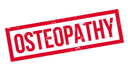 Osteopathie rubberzegel