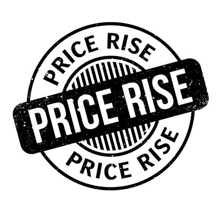 ゴム印の価格上昇