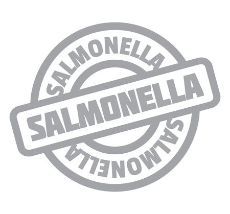 Salmonella rubber stamp Illustration