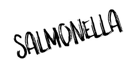 salmonella: Salmonella rubber stamp Illustration