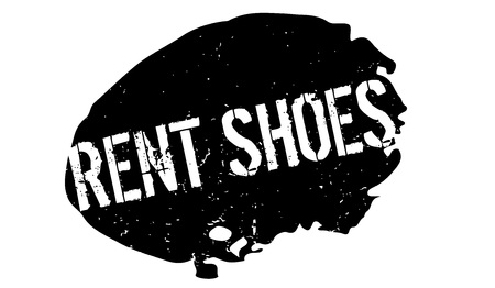 Rent Shoes rubber stamp