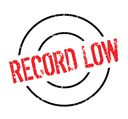 worst: Record Low rubber stamp. Grunge design with dust scratches. Effects can be easily removed for a clean, crisp look. Color is easily changed.