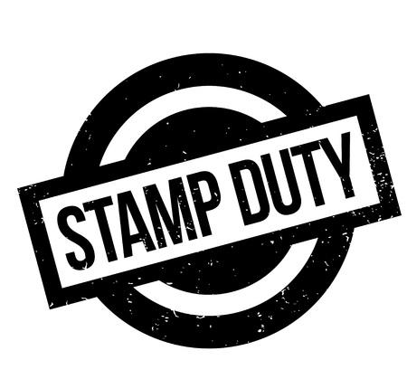 Tampon de timbre Duty Banque d'images - 83386694