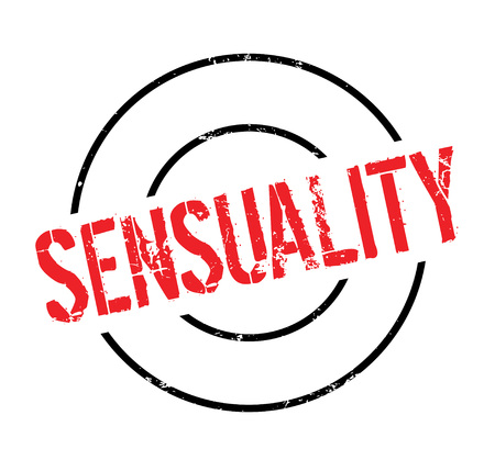 Sensuality rubber stamp