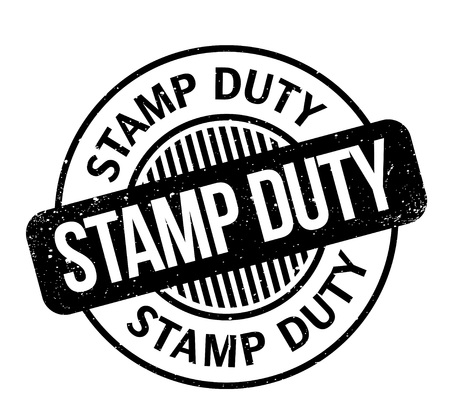 Stamp Duty rubber stamp