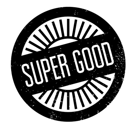 marvelous: Super Good rubber stamp
