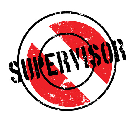 Supervisor rubber stamp