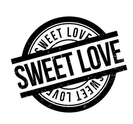 ゴム製スタンプと甘い愛 写真素材 - 83478162
