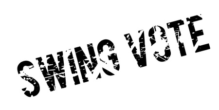 Swing Vote rubber stamp