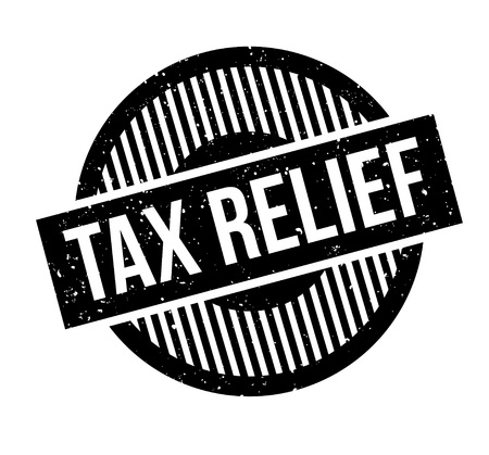 Tax Relief rubber stamp Illustration