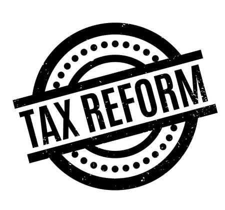税改革のゴム印