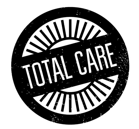 Total Care rubber stamp