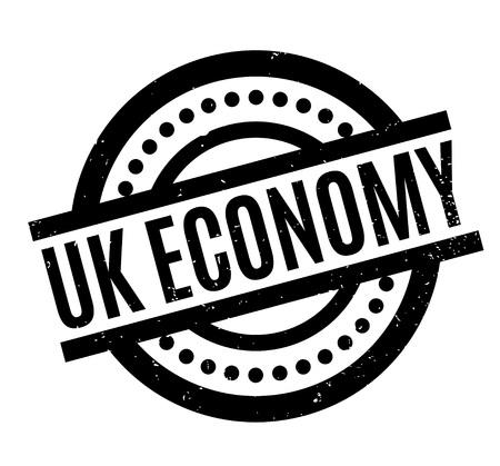 british money: Uk Economy rubber stamp
