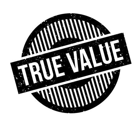True Value rubber stamp