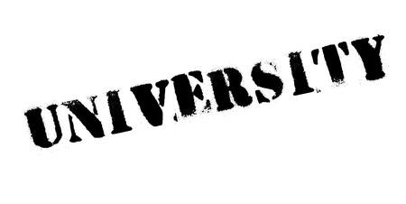 University rubber stamp