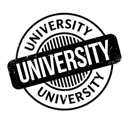 uni: University rubber stamp Illustration