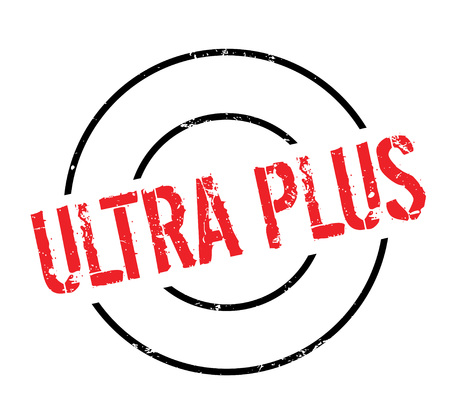 Ultra Plus rubber stamp