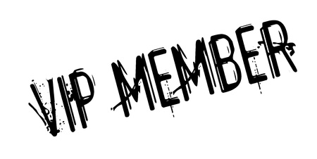 closed community: Vip Member rubber stamp