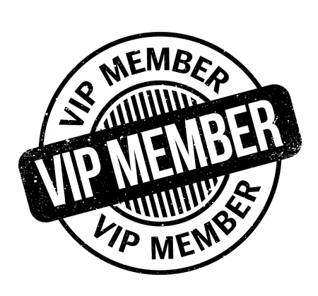 restricted area: Vip Member rubber stamp. Grunge design with dust scratches. Effects can be easily removed for a clean, crisp look. Color is easily changed.