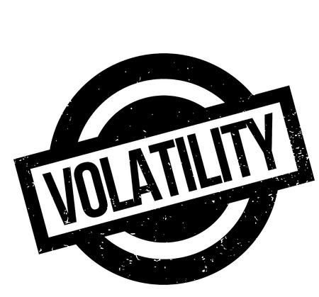 Volatility rubber stamp Reklamní fotografie - 83629799