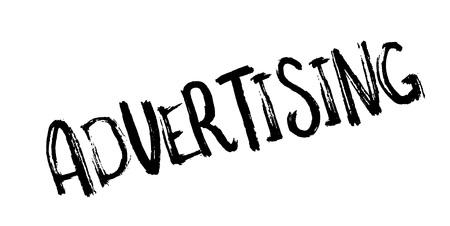 Advertising rubber stamp Illustration
