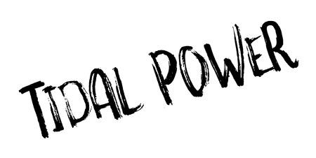 tidal: Tidal Power rubber stamp