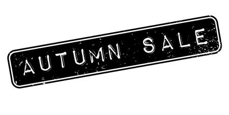 Autumn Sale rubber stamp