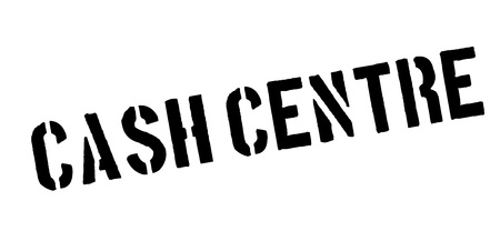 Cash Centre rubber stamp