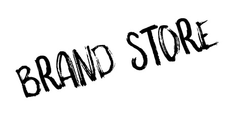 Brand Store rubber stamp Illustration