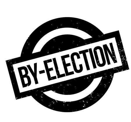 By-Election rubber stamp Фото со стока - 83772081