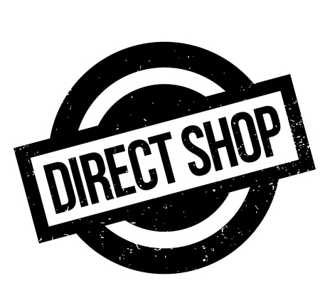 Direct Shop rubber stamp