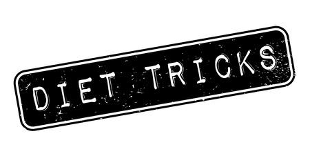 Diet Tricks rubber stamp