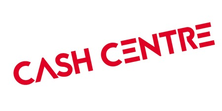 現金センター ゴム印