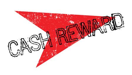 Cash Reward rubber stamp
