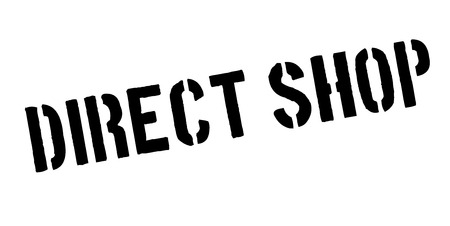 indirect: Direct Shop rubber stamp.