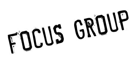 Focus Group rubber stamp Stok Fotoğraf - 83814372