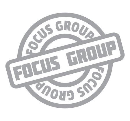 Focus Group rubber stamp Stok Fotoğraf - 83815503